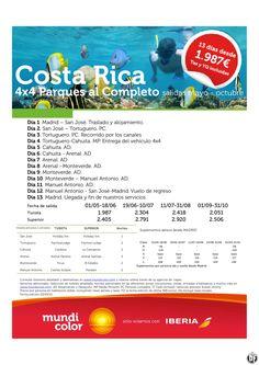 Costa Rica Parques al Completo 4x4 ultimo minuto - http://zocotours.com/costa-rica-parques-al-completo-4x4-ultimo-minuto/