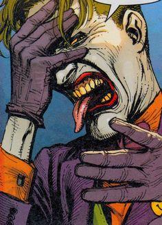 Joker Comic, Joker Dc, Joker And Harley Quinn, Batman Joker Wallpaper, Joker Wallpapers, Comic Books Art, Comic Art, Joker Images, Rock Poster