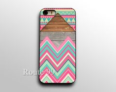 iPhone 4 4s 5 5s 5c Chevron Aztec Wood Block Print case by Route99, $1.99