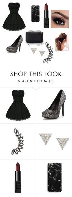 """""""Prom Idea"""" by autumndsmith on Polyvore featuring Lizzie Mandler, NARS Cosmetics, Harper & Blake and La Regale"""