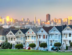What to do in San Francisco by Coach   The Zoe Report. Painted Ladies.