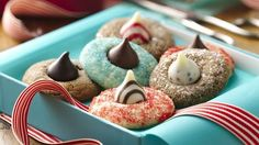 Candy-topped cookies are always a winner. And with cookie mix, making them couldn't be easier!