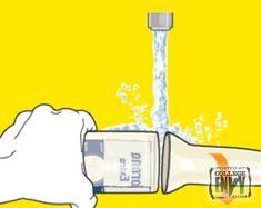 Transformando garrafas em copos