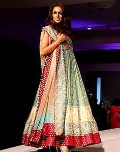 Aqua Red Vagant, Indian Anarkali Suits 2013 Collection, Indian Designers Anarkalee Dresses Canada, USA, UK, Australia