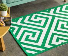 Jacquard Broadway 180x120cm Floor Rug - Green