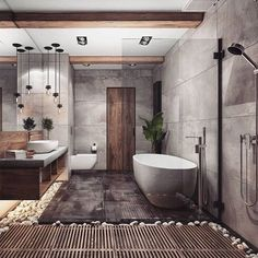 Bathroom Goals ♥👌 Tag friends 👥 Render by Are you looking for a support for your interior and and architectural visuals ? Contact us at email 📩 We would love to help you making your projects looking great ! Start tag be featured in our gallery ✔ Bathroom Inspiration, Interior Design Inspiration, Home Interior Design, Design Ideas, Design Interiors, Dream Home Design, Modern House Design, Cabin Design, Nordic Design