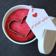 Adohable Playdough Valentines - The Twinery