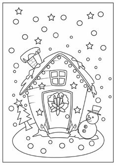Christmas Coloring Pages Printable - http://designkids.info/christmas-coloring-pages-printable-3.html #designkids #coloringpages #kidsdesign #kids #design #coloring #page #room #kidsroom