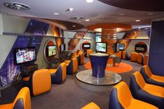 AKA - Atlantis Kids Adventure, is Paradise Island's newest club for guest ages 3 to Teen Game Rooms, Video Game Rooms, Video Games, Video Game Bar, Gaming Lounge, Gaming Room Setup, Gaming Rooms, Geek House, Gaming Center