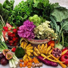 Rawveganblonde : Colourful abundance : eat a rainbow