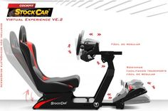 Cockpit Extreme Racing VE.2 Racing Seats, Racing Wheel, Gamer Chair, Racing Simulator, Secret Rooms, No Equipment Workout, Game Room, Arcade, Race Cars