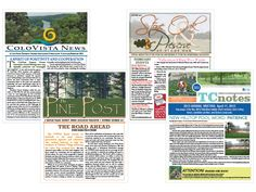 Make a monthly newsletter for your neighborhood association with ...