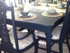 What To Know Before Using Chalk Paint Painted Dining Room TableDining