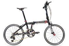 軽っ! Allen Sports USAの「ULTRA X」は前2枚、後ろ10段という20段変速が可能な20インチの折りたたみ自転車で、重さはたったの8.5kgしかありません。 A-Bicycleや