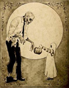 Winter Moon: Illustration :: Shannon Stamey - October Illustration