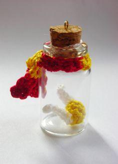 Harry Potter snitch in a jar ornament