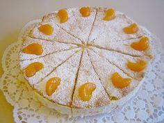 Quark - Sahne - Torte mit Mandarinen (gedeckt)   Chefkoch.de