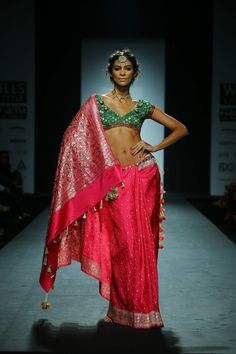 Anupamaa by Anupama Dayal - WIFW Autumn/Winter 2014   color contrast! Worked as a Jr.Art Director for this collection..!!!