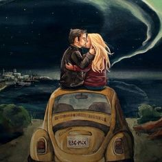 Omg this needs to happen asap :( Captain Swan is life! By Sarah Mac