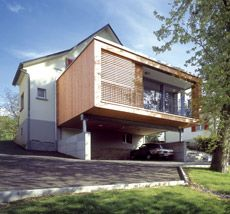 Extension sur pilotis par alain demarquette architecte for Recours architecte extension garage