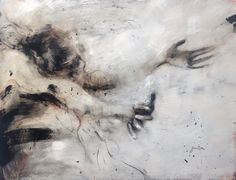 ewa hauton oil painting on canvas http://ewahauton.wix.com/peinture #painting #ink #motion