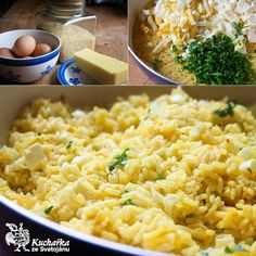 Russian Recipes, Risotto, Macaroni And Cheese, Food And Drink, Yummy Food, Ethnic Recipes, Food Ideas, Polish, Diet