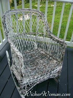 How To Paint Wicker Furniture Article By Wicker Furniture Repair Expert,  Teacher And Author Cathryn Peters, Wicker Painting Tips To Make It Easy