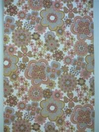 pink grey brown flowers