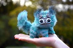 Small Striped Kitten by GakmanCreatures on Etsy