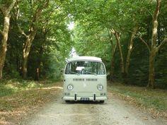 White Westy VW Campervan     :-{b>