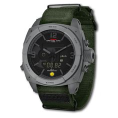 Gray MTM RAD Tactical Watch For Radiation Detection
