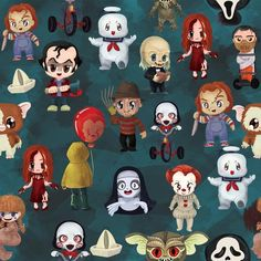Excited to share this item from my shop: Halloween Character Blanket. Horror Cartoon, Horror Icons, Horror Art, Halloween Wallpaper Iphone, Fall Wallpaper, Disney Wallpaper, White Wallpaper, Horror Movie Characters, Horror Movies