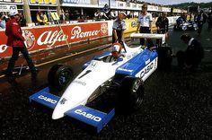 Mike Thackwell - Ralt RH6 Honda/Mugen - Ralt Racing Ltd - III Daily Mail Trophy 1984 - European F2 Championship, Round 11 - © Sutton Motorsport Images