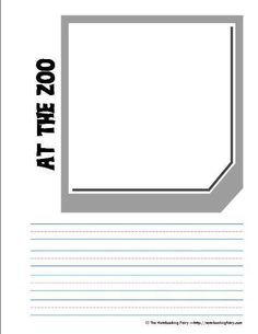 Zoo Field Trip notebooking pages from @Jimmie Lanley