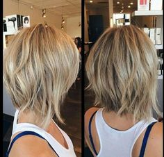 short bob hairstyles back-view-of-short-hairstyles Back View Of Short Layered Haircuts Short Layered Haircuts, Short Hair Cuts, Short Hair Styles, Haircuts For Thin Hair, Messy Short Hair, Haircut Short, Medium Bob Hairstyles, Short Hairstyles For Women, Hair Cuts Choppy