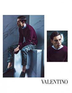 Nicolas Ripoll for Valentino Men Spring/Summer 2014 Campaign image valentino spring summer 2014 campaign nicolas ripoll 002 800x1033