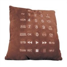Remote Control Pillow Cushion | The Gift Central
