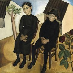 """""""Gaston and his sister"""" by Gustave Van De Woestijne... love the school of Laethem, just next to the place I live now... so many great artists have lived there"""