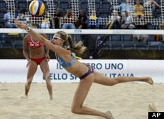 -- Preparing for this Olympics is different for Kerri Walsh because this time she has two kids tagging along on her training. The U.S. beach volleyball star now has a son for each of her Olympic gold medals.