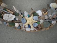 Wine by the Water Wine Cork Wreath Large by SilverSeaTreasures, $99.95