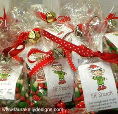 Let your kids whip up some adorable little elf treats to give to their friends!