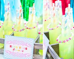 Colorful + Cute Vintage-Inspired Carnival Party! | Pizzazzerie