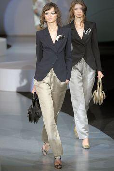 Giorgio Armani Spring 2009 Ready-to-Wear Fashion Show - Bruna Tenorio
