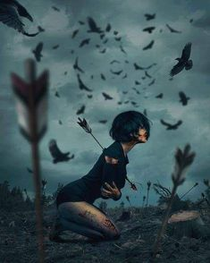 Turkish Artist Hüseyin Şahin Creates Stunning Imaginative And Dreamlike Photo Manipulations Hüseyin Şahin a.aspect (in the past) is a skilled artwork director, virtual and. Dark Fantasy, Fantasy Art, Art Noir, Sad Art, Anime Kunst, Arte Horror, Gothic Art, Photo Manipulation, Amazing Art