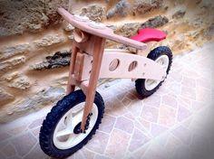 Wooden little bike for my boy!