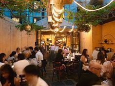 DOMINO:NYC Restaurants With Secret Outdoor Gardens