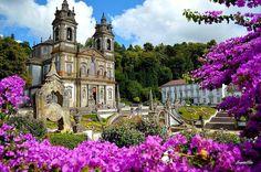 Bom Jesus, Braga. Portugal.
