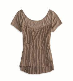 AEO Crinkle T-Shirt
