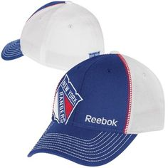 bd817c27cf6 Reebok New York Rangers Structured Flex Hat - Royal Blue White