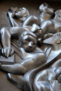 Rockefeller Center Relief Sculpture by dr_marvel, via Flickr